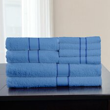 100% Egyptian Quality Cotton 8 Piece Towel Set