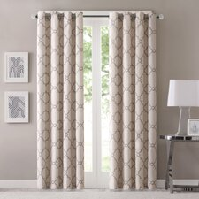 Winnett Light-Filtering Curtain Single Panel