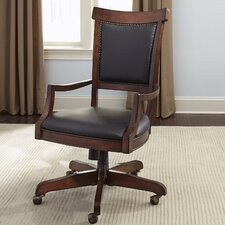 Ashland Executive High-Back Desk Chair with Caster
