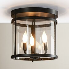Galen 3 Light Semi Flush Mount