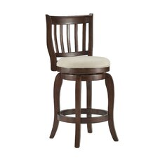 "Morgan 24"" Swivel Bar Stool"