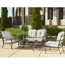 Pavilion 5 Piece Deep Seating Group with Cushion
