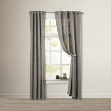 Baremeadow Linen Grommet Single Curtain Panel