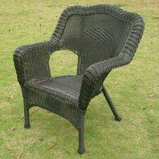 Wyndmoor  Wicker Resin Steel Deep Seated Patio Chair