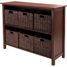 Champlain 6 Drawers Storage Shelf
