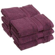 Spring Grove 900GSM Premium Long-Staple Combed Cotton Wash Cloth (Set of 6) (Set of 6)