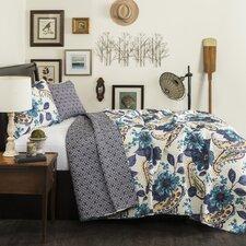 Greybirch 3 Piece Quilt Set in Blue