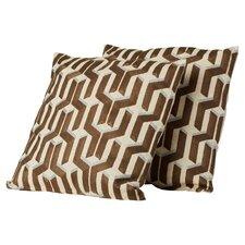 Southmont Cotton Throw Pillow (Set of 2)