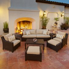 Prompton 8 Piece Deep Seating Group with Cushion