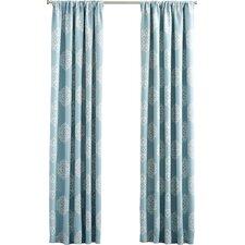 Sophie Rod Pocket Blackout Curtain Panel (Set of 2)