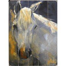 White Horse Wall Art