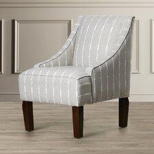 Ellicottville Swoop Menton Arm Chair