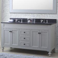 "Latimer 60"" Double Bathroom Vanity Set"
