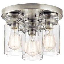 Bloomingdale 3 Light Flush Mount