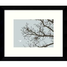 Whimsy Tree Framed Graphic Art