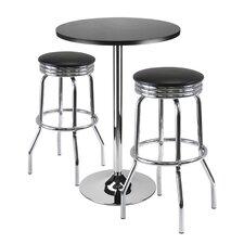 Warrensburg 3 Piece Pub Table Set
