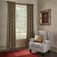 Grouse Grommet Blackout Single Curtain Panel