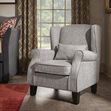 Schiller Solid Dobby Arm Chair