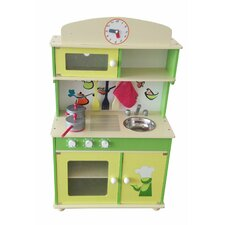 My Cute Wooden Play Kitchen
