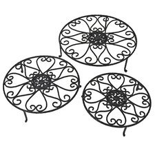 Hearts Plant Stand (Set of 6)