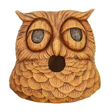 Owl Mounted Birdhouse (Set of 2)