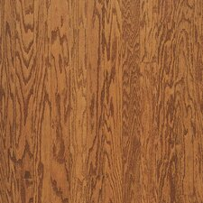 "Forest Glen 5"" Engineered Red Oak Parquet Hardwood Flooring in Satin Gunstock"