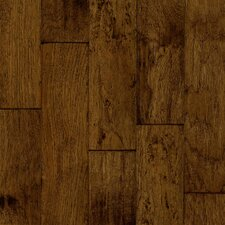 "5"" Engineered Hickory Hardwood Flooring in Turned Earth"