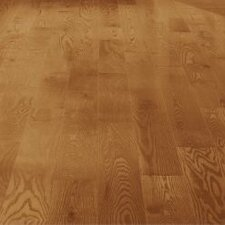 "5"" Solid Red Oak Hardwood Flooring in Butterscotch"