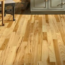 "5"" Solid Hickory Hardwood Flooring in Country Natural"