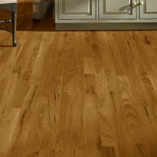 "4"" Solid Hickory Hardwood Flooring in Oxford Brown"