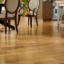 "5"" Engineered Hickory Hardwood Flooring in Natural"
