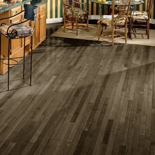 "2-1/4"" Solid Maple Hardwood Flooring in Pewter"