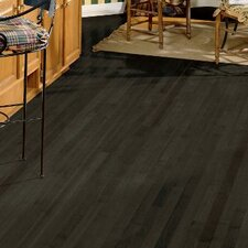 "2-1/4"" Solid Maple Hardwood Flooring in Midnight"