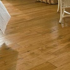 "5"" Solid Hickory Hardwood Flooring in Gold Rush"