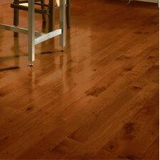 "4"" Solid Maple Hardwood Flooring in Cherry"