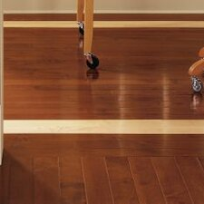 "Kennedale Prestige Plank 3-1/4"" Solid Maple Hardwood Flooring in Semi Gloss Cherry"