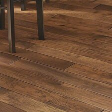 "Chimney Rock 4"" Solid Hickory Hardwood Flooring in Trail"