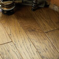 "5"" Engineered Hickory Hardwood Flooring in Maize"