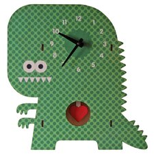 Clockzilla Pendulum Wall Clock