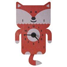 Fox Pendulum Wall Clock