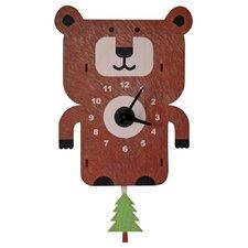 Bear Pendulum Wall Clock
