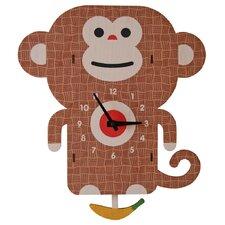 Monkey Pendulum Wall Clock