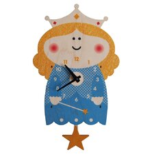 Princess Pendulum Wall Clock