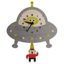 Saucer Pendulum Wall Clock
