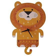 Lion Pendulum Wall Clock