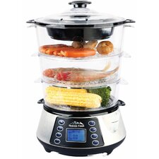 NaturoPure™ Digital Food Steamer