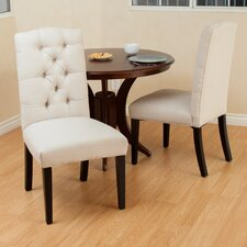 Berlin Tufted Fabric Dining Chair (Set of 2)