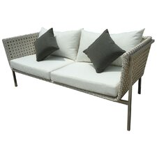 Twin Palms Sofa with Cushions