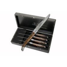 Provençal  Solid Handle Steak Knife Set (Set of 4)