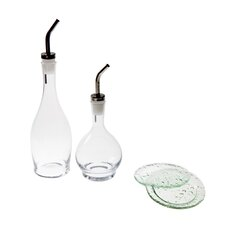 4 Piece Cruet Dipping Set